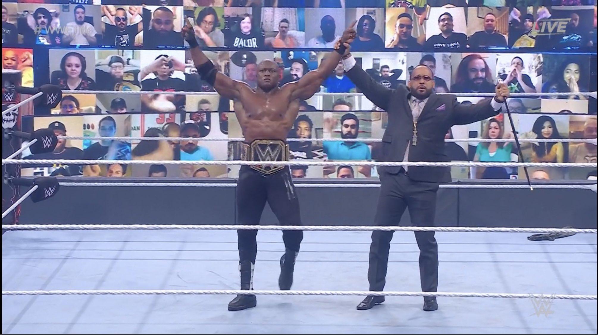 Lashley-WrestleMania Backlash