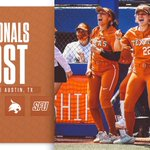 Image for the Tweet beginning: The road to the WCWS