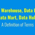 Image for the Tweet beginning: Data Warehouse, Data Lake, Data