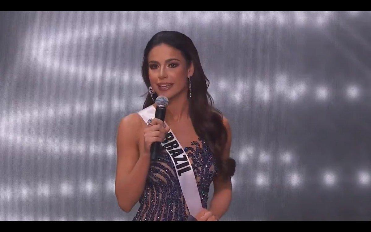 Pra mim a Miss Brasil é a miss Universo e sem mais.... Cadê o VRA  #MissUniverse https://t.co/Bv7yyixaTY