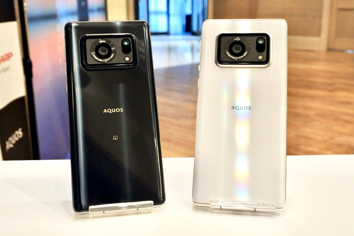 Sharp's powerful Aquos R6 features a huge one-inch camera sensor
