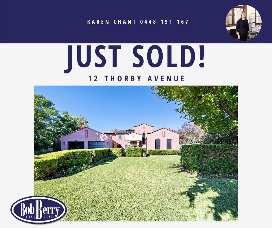 ANOTHER SOLD!  How quick was that!  Congratulations to the Vendors, Purchasers and Karen Chant👏 https://t.co/f49avPEh06