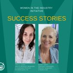 Image for the Tweet beginning: Women in the Industry –
