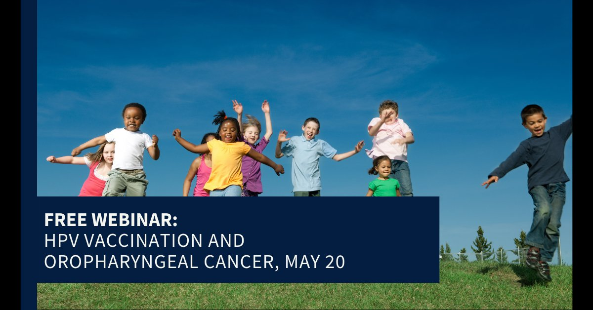 .@MayoCancerCare's Kendall Tasche, M.D., will give a physician presentation on timely topic of #HPVvaccine for adolescents and the rising incidence of #HeadandNeckCancer. #hncsm