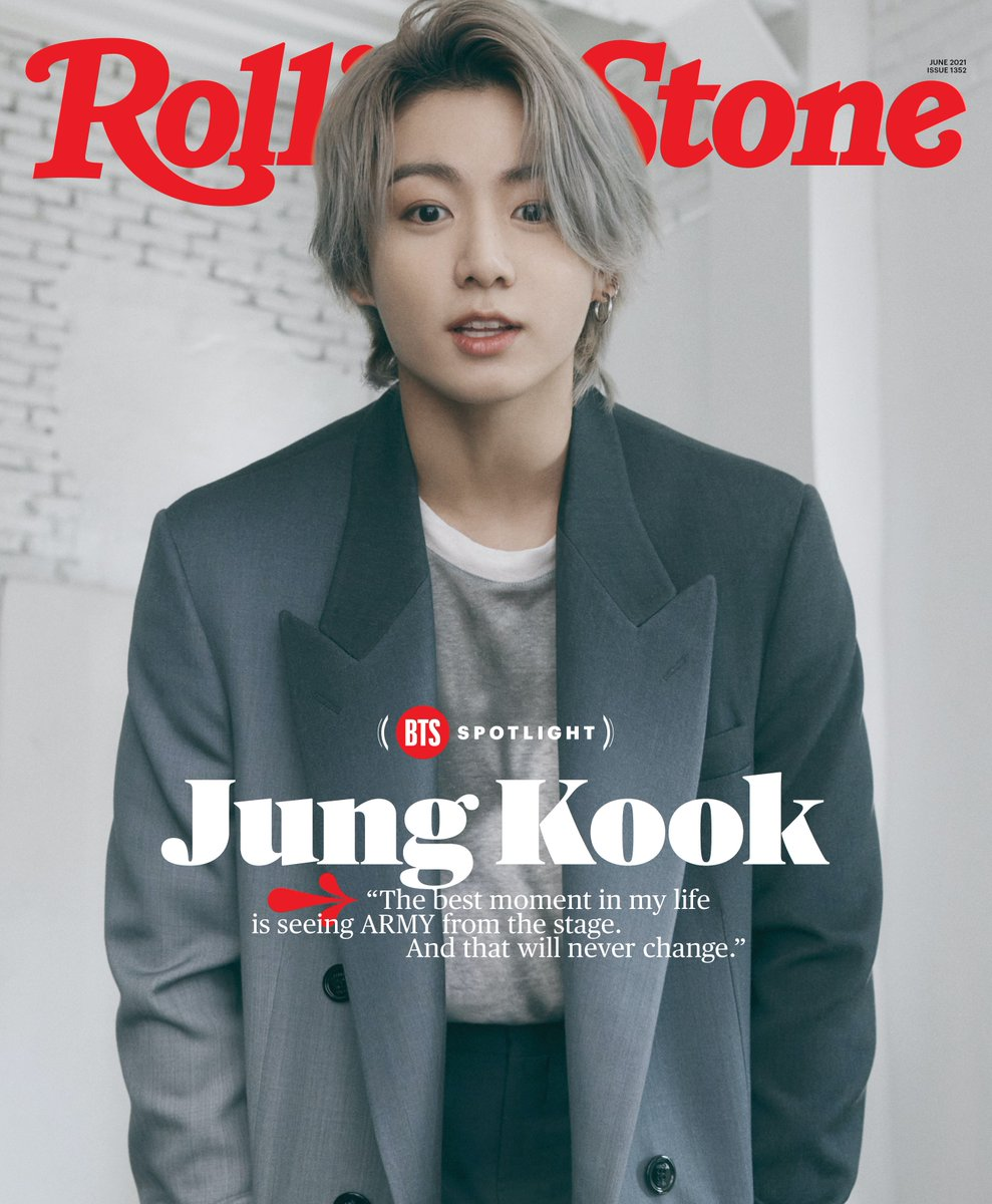 "In his digital cover story, BTS' Jung Kook opens up about making ""Dynamite,"" loving ARMY, and learning from Ariana Grande. #BTSxRollingStone https://t.co/QQplXowMRp https://t.co/aS4YTwRbgr"
