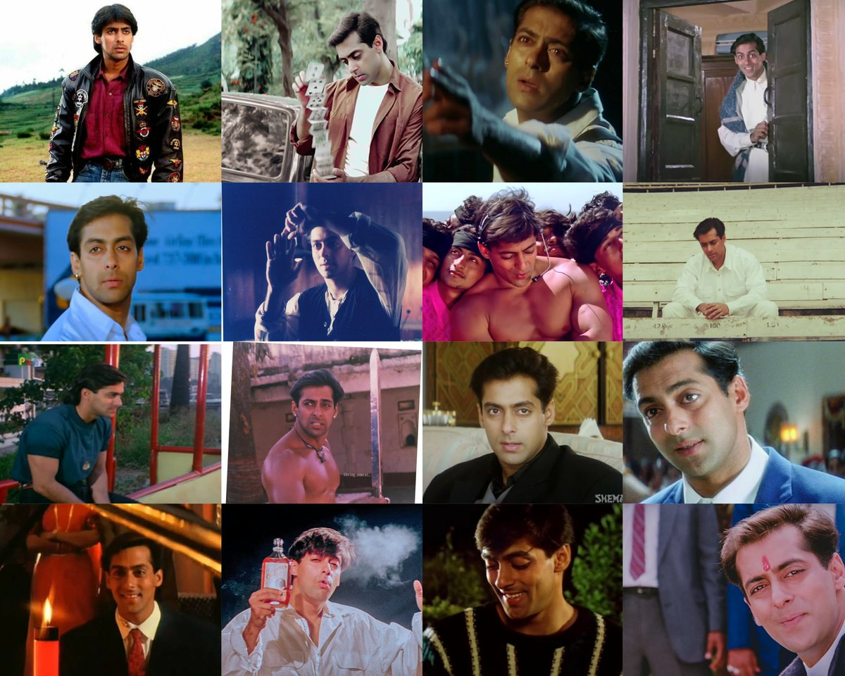 The Quintessential ACTOR from the 90's charmed with Everyone with his characterisation and style.   #SalmanKhan performance in those films  >>  If you don't have words on his performances then, you don't have any rights to talk bad about him for the mindless BB Mass films.🤟 https://t.co/Jv3g3606k4