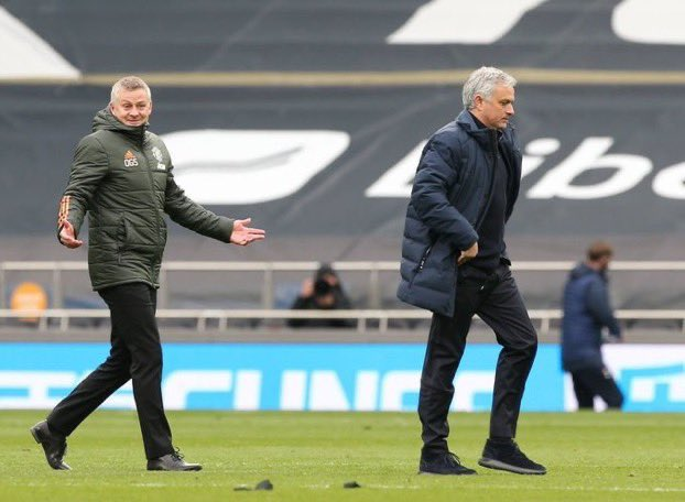 "Jose Mourinho: ""Finishing second with Manchester United is among my top achievements""  Ole Gunnar Solskjær: ''Our ambition is a lot more than second place. You can't say that is an achievement''  Standards. https://t.co/8whgaeSbU4"