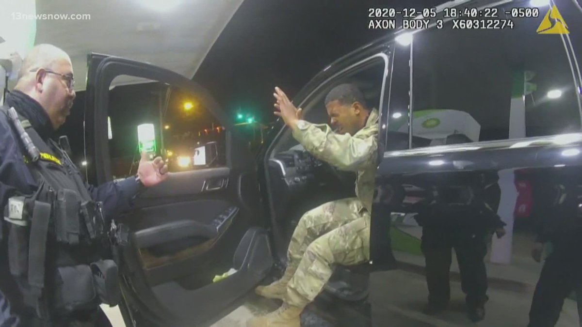 Lawyers for Joe Gutierrez, the former Windsor officer fired after the traffic stop that caught nationwide attention, filed a motion Friday to dismiss the lawsuit filed by Army 2nd Lt. Caron Nazario. They say the facts don't line up with the lawsuit. @13NewsNow #13Daybreakers https://t.co/irbLKPgo9v