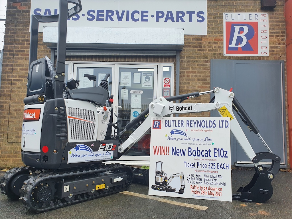 There is just one week left to enter the draw for the charity raffle of a Bobcat E10z 1 tonne mini-excavator to raise proceeds for the charity @whenyouwishUK   https://t.co/tVgbIVnZqB https://t.co/nWK3pmR2h2
