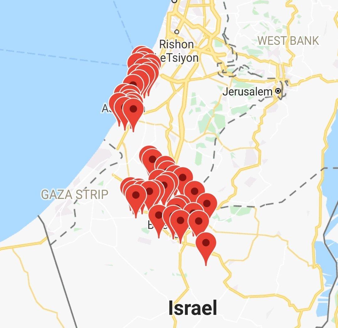 Коротко по ситуации в Палестине.