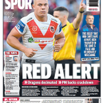Tomorrow's @telegraph_sport back page
