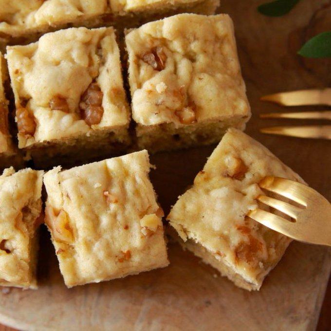 熟れすぎてしまったバナナもこれで美味しく消費出来そう!電子レンジで作れる「バナナケーキ」のレシピ!