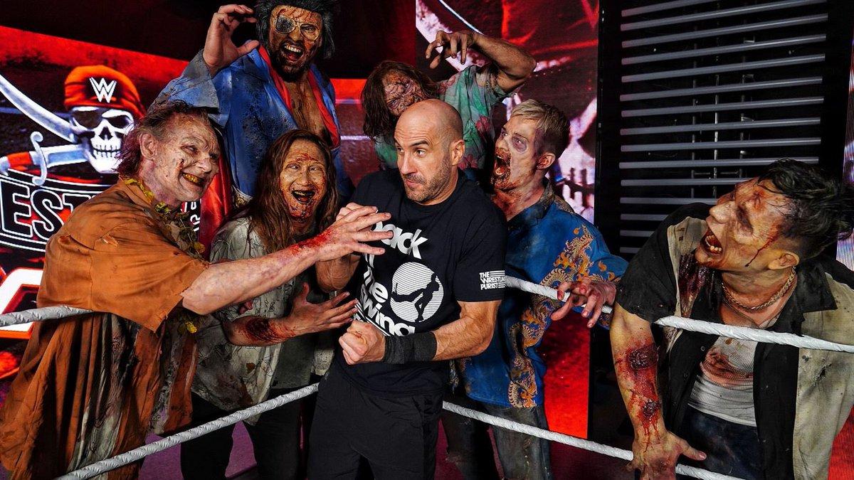 Who Portrayed Zombies At WrestleMania Backlash
