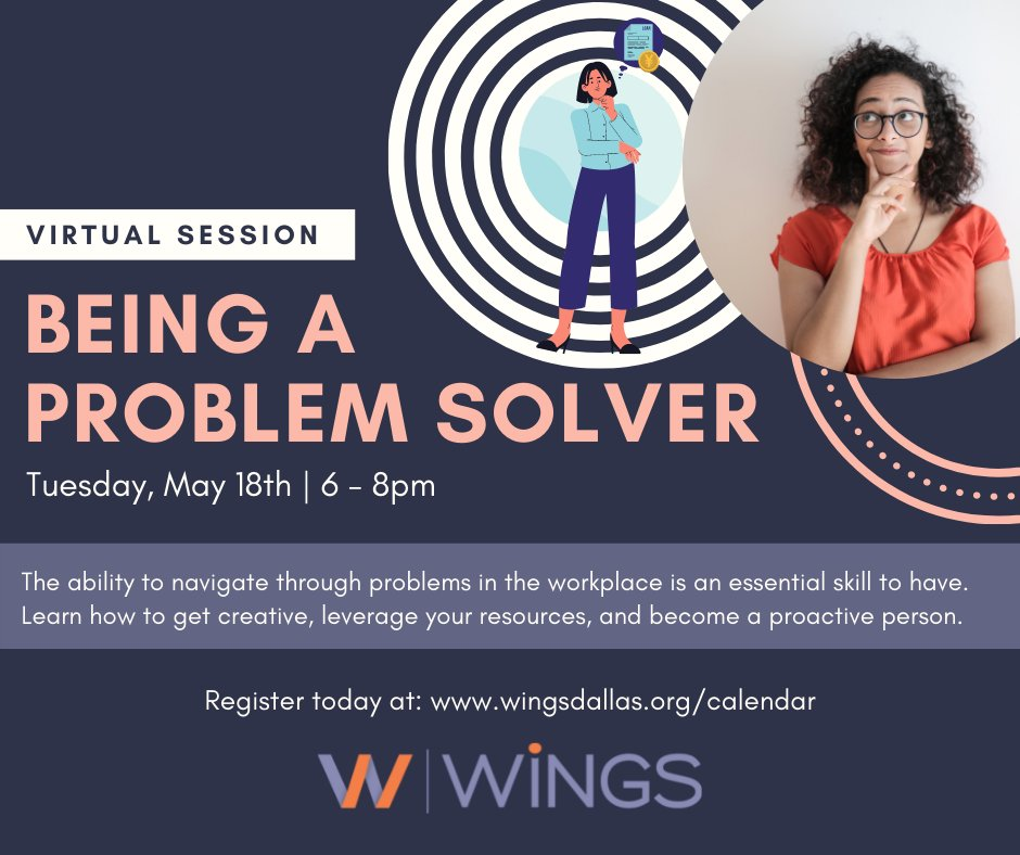 test Twitter Media - Developing problem-solving skills can help you be a better leader in the workplace, no matter what field you're in! Join us for our free virtual class, Become a Problem-Solver, tomorrow from 6pm to 7:30pm. Register now by visiting https://t.co/87gQ9BObJ4 https://t.co/XXMn5BJ3NP