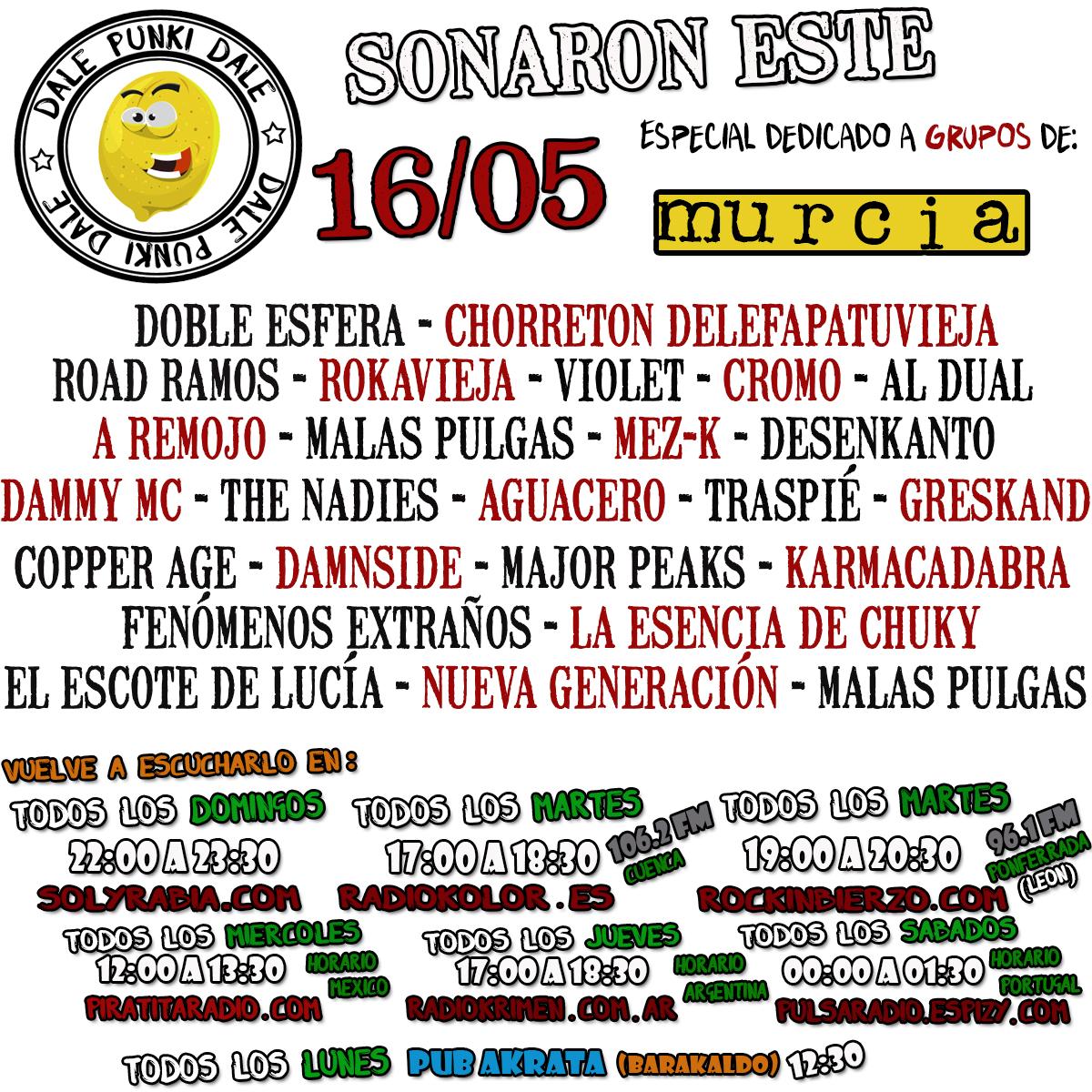 Hoy martes a las 17:30 h. en https://t.co/SVlPXLIQz7 y en la 106.2 FM Cuenca No te lo pierdas!!!