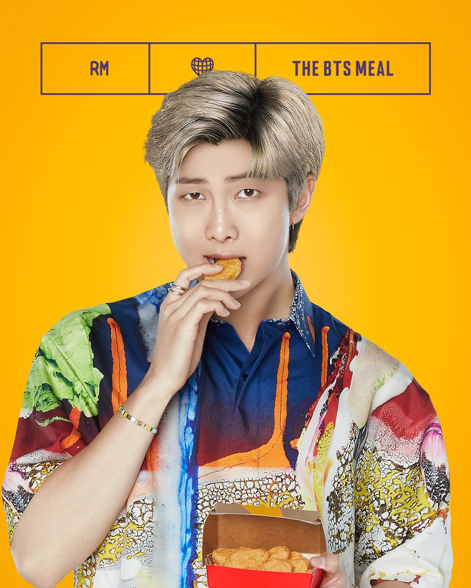 Replying to @McDonalds: BTS x McD: would u share a fry with RM?