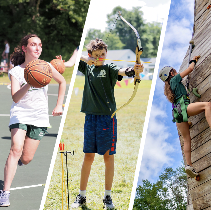 What activities are you most excited to try when you get to camp this summer?   Whether you fancy yourself as the next Breanna Stewart, Hawkeye or Spiderman, we've got you covered! https://t.co/ZnmhsqgNCV