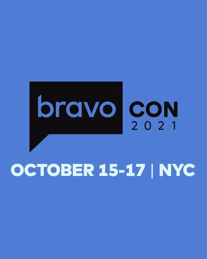 BOLO-MG! #BravoCon is BACK, bigger and better, October 15-17 in NYC! 🥳  🎉  Will we see you there? 👀  Click here for more info: