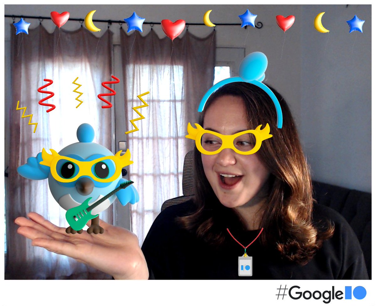 #Dash and I are getting ready for the big party!🎈🎈  Come join us at the #IOPhotobooth today, get your #GoogleIO pic!📸  We will see you at #GoogleIO tomorrow! 🙌✨  photobooth.flutter.dev