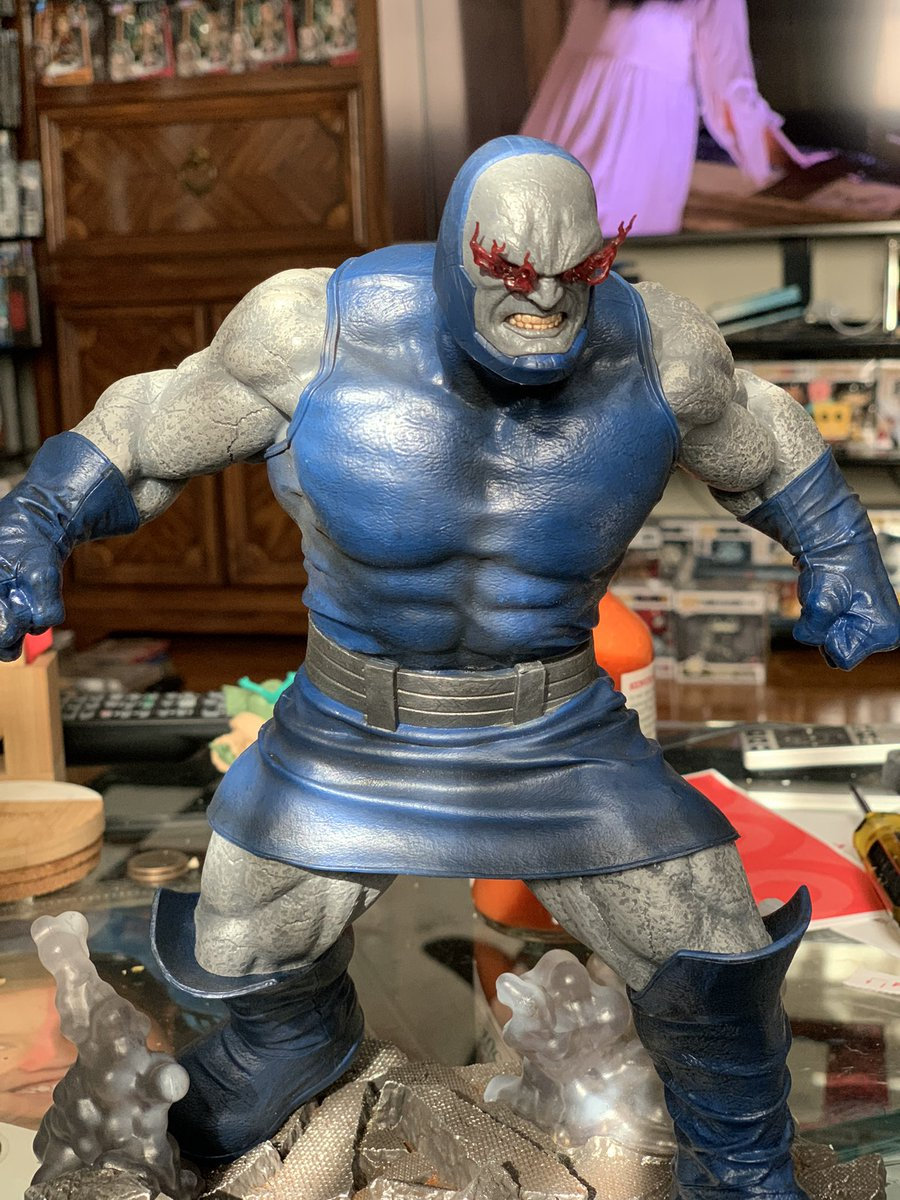Got a new statue of #Darkseid @Ray__Porter . #RestoreTheSnyderVerse @discoveryplus