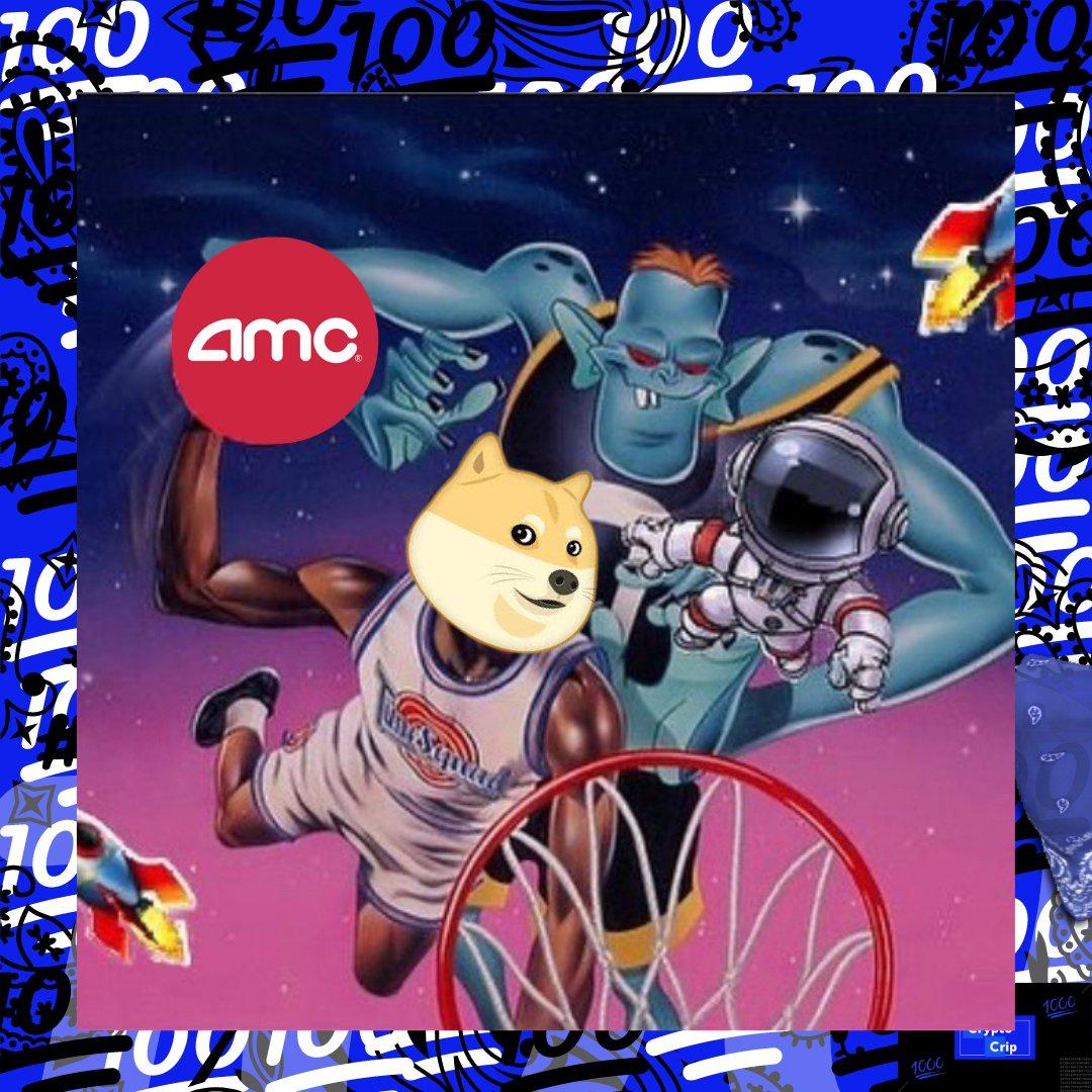 #AMCARMY  #DOGE x $AMC = #GorillaDogs  Let's make a movie 🍿💯♿️ -This is the way Ese😎 #apestogetherstrong #saveamc #welikethestock #welikethecompany #welikethemovies #hodl #dogeXamc #dogearmy #dogecommunity #amcsqueeze #cryptocommunity #spacejam #tunesquad #dogesquad