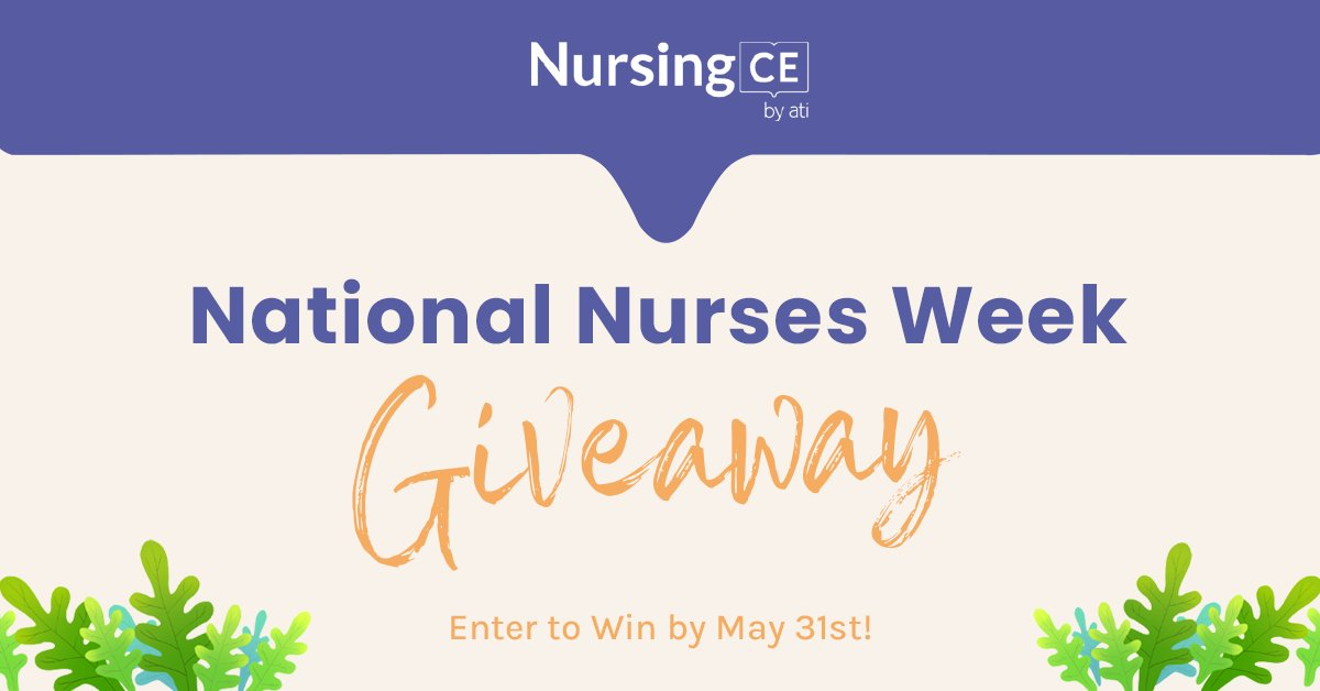 Are you enjoying your #NursesMonth celebration? Let's kick things up with a #giveaway! https://t.co/D0Y2FYGybc https://t.co/VD16QpJWXO