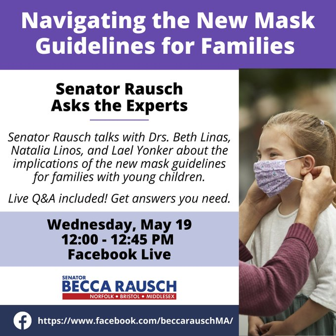 Senator Becca Rausch: Navigating the mask guidelines for Families
