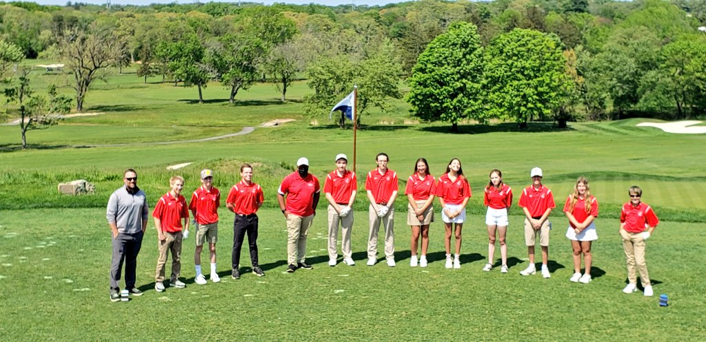 Great practice today. A few tem members missing from the team pic but happy to be  @jumpingbrookcc continuing to learn this life long sport! Pt Boro tomorrow at home. @Scarlet_Fliers @_NeptuneHS #tunesquad #neptunegolfteam #getyourkidsgolfing #growthegame