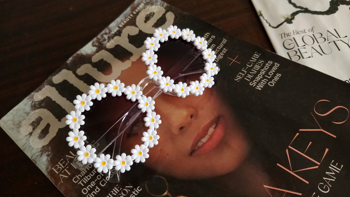 Excited to share the latest addition to my #etsy shop: Vintage, 70s sunglasses, oversized, round, adult, clear, daisy sunglasses, sunflower  #sunflower #jewelry #adult #hippyboho #flowerpower #flowersunglasses #kids #girls #daisyglasses