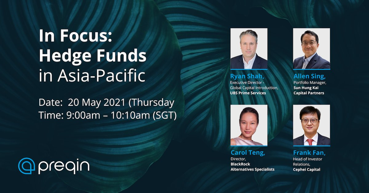 test Twitter Media - Join us on 20 May for our In Focus: Hedge Funds in Asia-Pacific webinar. After nine consecutive quarters of outflows from hedge funds globally, net inflows since Q3 2020 have brought some much-needed optimism. https://t.co/jKolsZaFwt https://t.co/vtwpHLeVmw