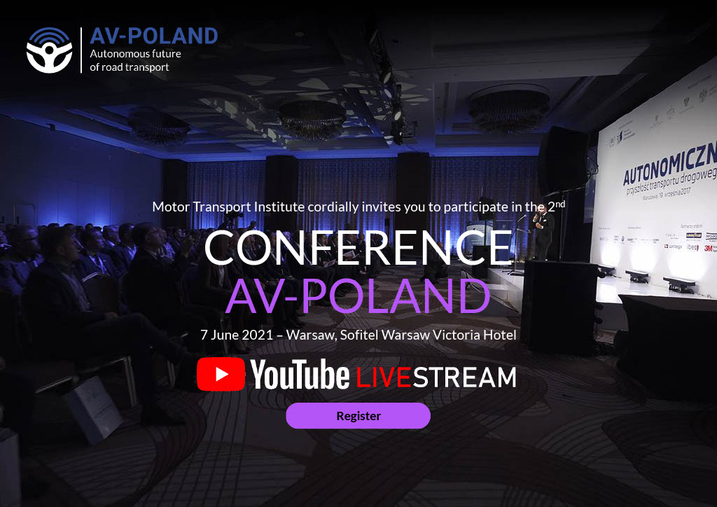 On 7 June, SUaaVE will participate at @AV_Poland (Monday the 7th of June) to present the main results of the project. You can find more info and register here: https://t.co/JbqkbVBNC1 @ITS_waw_pl @cinea_eu #H2020Transport