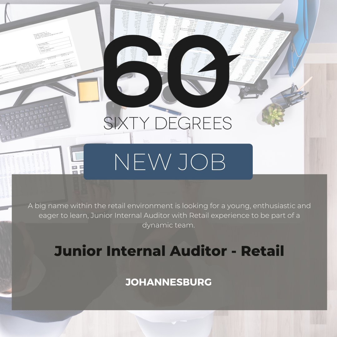 test Twitter Media - New #JobAlert - Junior Internal Auditor - Retail in Johannesburg  For more information & to apply, please click on the link below;  https://t.co/0atTvN1AF3  #nowhiring #internalauditor #retailjobs https://t.co/p5npsXHx8S