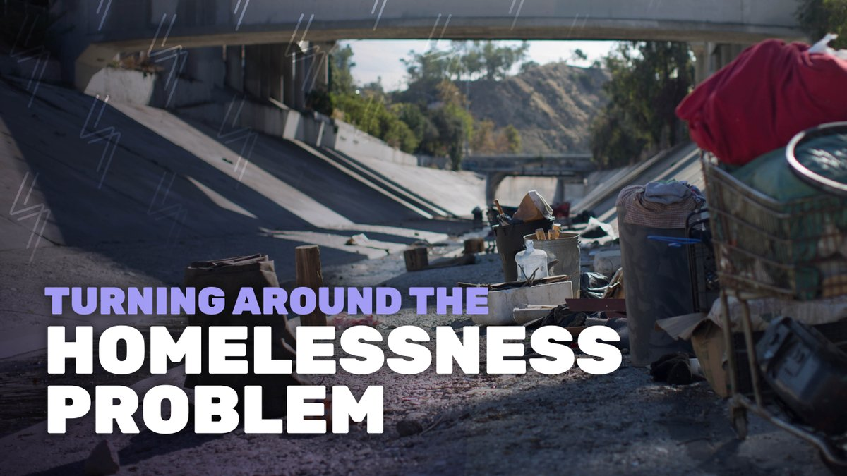 Image for the Tweet beginning: In 2019, while homelessness increased