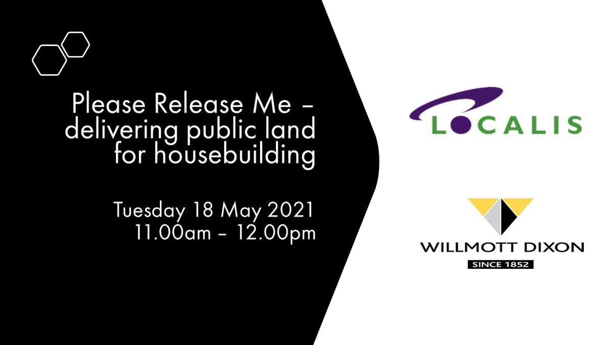 RT @Localis The 'Please Release Me' panel debate on the One Public Estate Programme and delivering public land for housebuilding is now available on the Localis Youtube channel for catch up viewing. #OPEhousing Link here: https://t.co/bRQq5TWovD