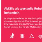 """Image for the Tweet beginning: Die Formel """"Abfälle=(Sekundär)Rohstoffe"""" ist die"""