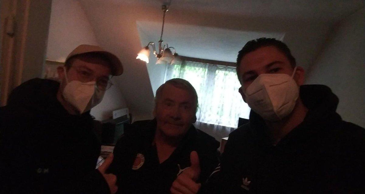 #loveberni ist geimpft! beste News und das gibt Hoffnung dass die Feldarena bald auch wieder von #fcspherren besucht werden darf. Es geht voran!