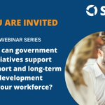 Image for the Tweet beginning: From 9 June, these webinars