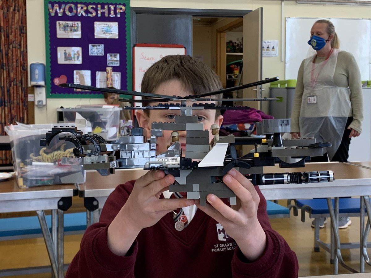 Here's one of our Year 4 children having lots of fun at After School Club and showing us his talents! 👷♂️ #AfterSchoolClub #Lego
