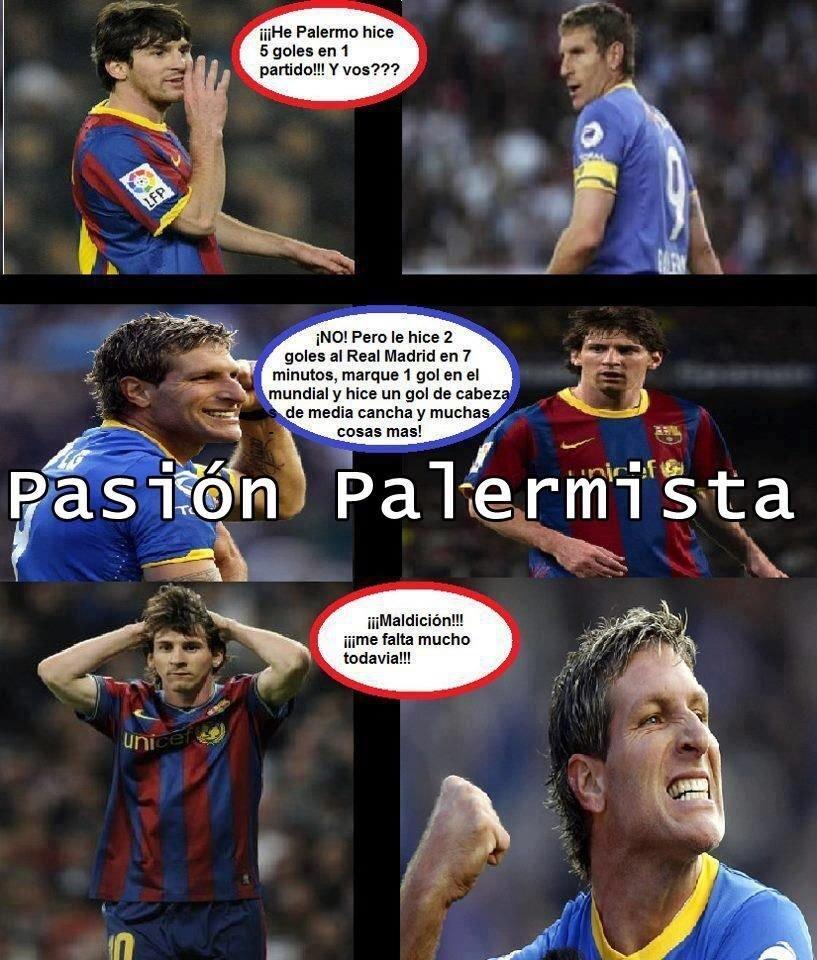 ¡¡PONGAMOS FIN A ESTA DISCUSIÓN!!   MG Messi // RT Palermo