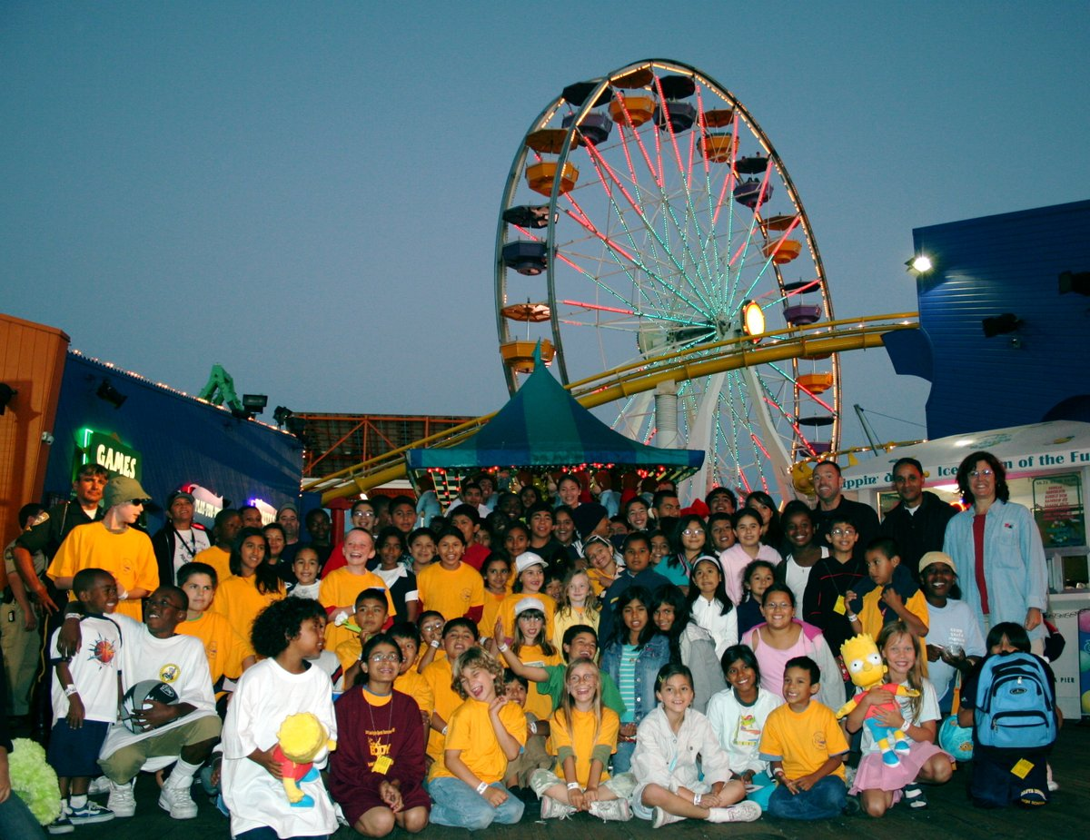 Counting down to our 25th anniversary, 2004 - The inaugural PALpalooza took place to benefit Santa Monica PAL in raising money to maintain and develop programs for children in the area. Each year, we host more than 500 youth for a free day of fun! https://t.co/QUGH8GzOXs https://t.co/Nxcgu3Xxqc