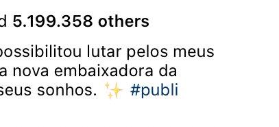 é sério que a publi da juliette com a avon é a publi mais curtida do instagram brasil? https://t.co/CKLKjdlMwt
