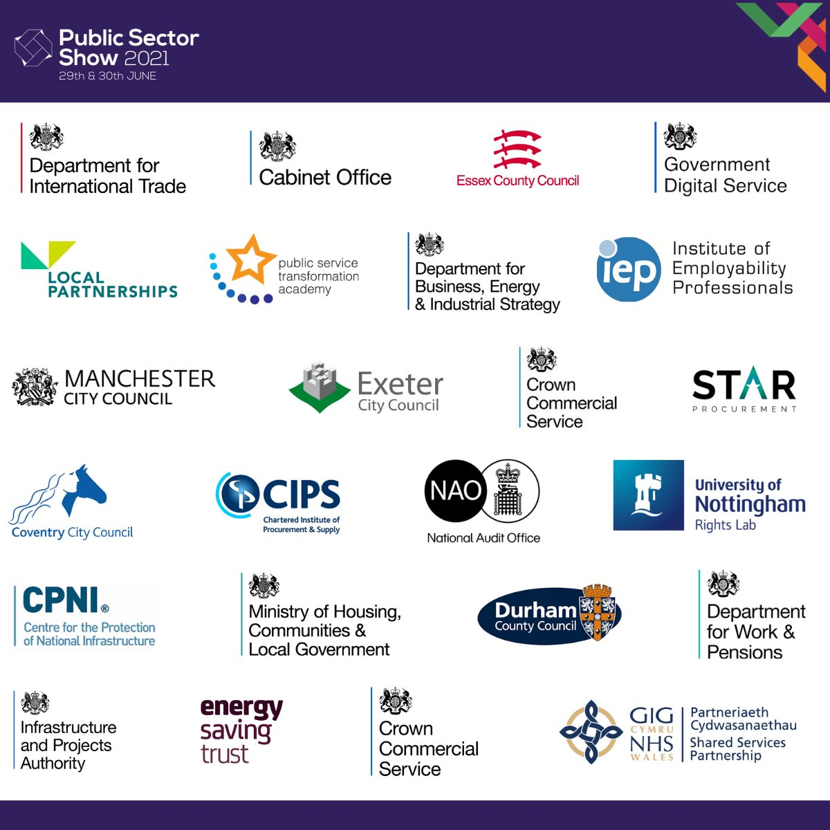 RT @Public_SectorUK Get your free pass to hear government C-Suite and Directors giving their advice on #publicsector #procurement on 29-30th June >> https://t.co/pMUfNjBaYV  Hear first-hand from speakers including: @gov_procurement, @GDSTeam, @ServiceReform, @LP_localgov, @coventrycc and more!