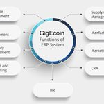 Image for the Tweet beginning: GigEcoin #ERP implementation is developed