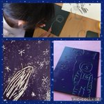 Lino carving afternoon with Year 5 and Year 6 today. #art #prepschool @newmalden #artappreciation