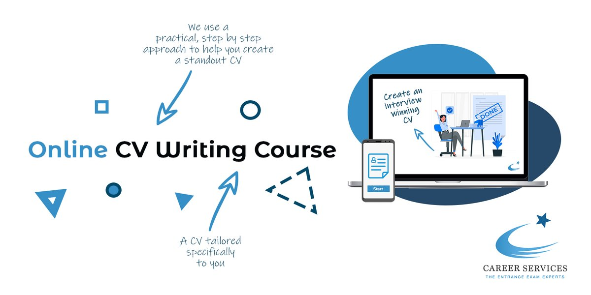 Create the best CV you have ever sent out! Whether you are a student, graduate, job seeker or professional, have lots of experience or barely any, our online course will provide you with an interview winning  CV! Preview the course or find out more here: https://t.co/xgw8nb9x6N https://t.co/0ubjTwRnGx