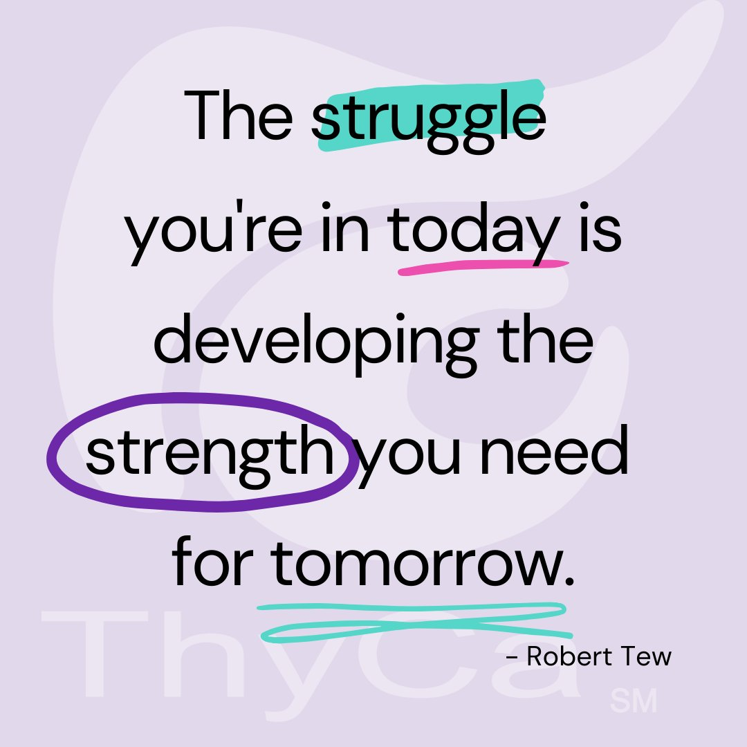 """""""The struggle you're in today is developing the strength you need for tomorrow."""" - Robert Tew #TuesdayFeeling"""