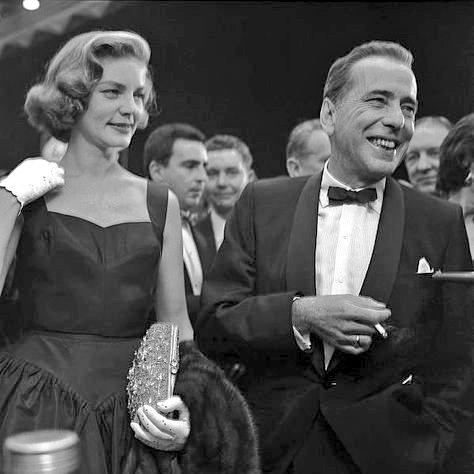 RT @projectionistw: Lauren Bacall, Humphrey Bogart. https://t.co/VAR3VMrUoo