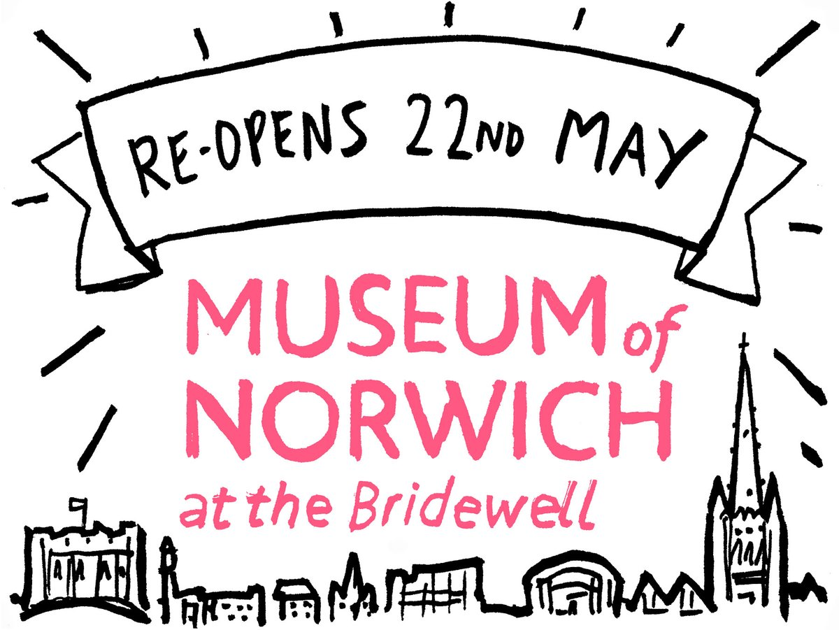 Truly exciting news from our neighbours @museumofnorwich ✨