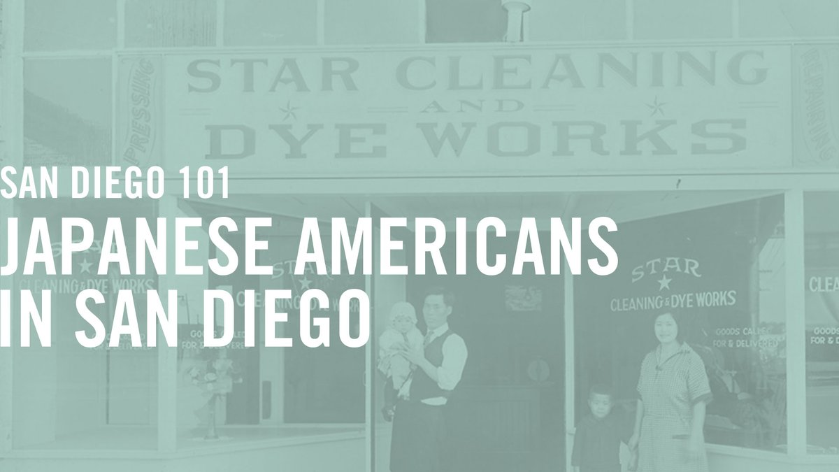 In case you missed the live session, the May 11 virtual discussion on Japanese Americans In San Diego is now available on demand >>> https://t.co/TThdjGUGhT   #SandDiegoHistory  #JapaneseAmericanHistory #HistoricPhotos  #HistoryAtHome https://t.co/fuipxXwxHC