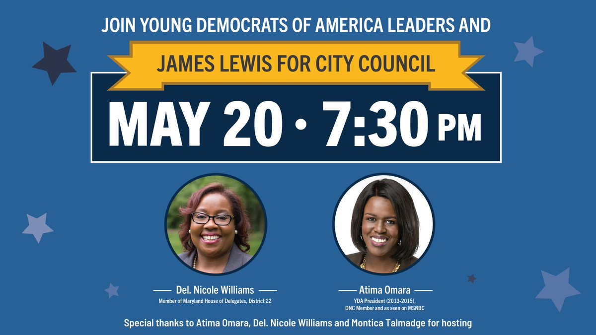 Please join me and my YDA family in supporting Jimmy for Alexandria VA city council.